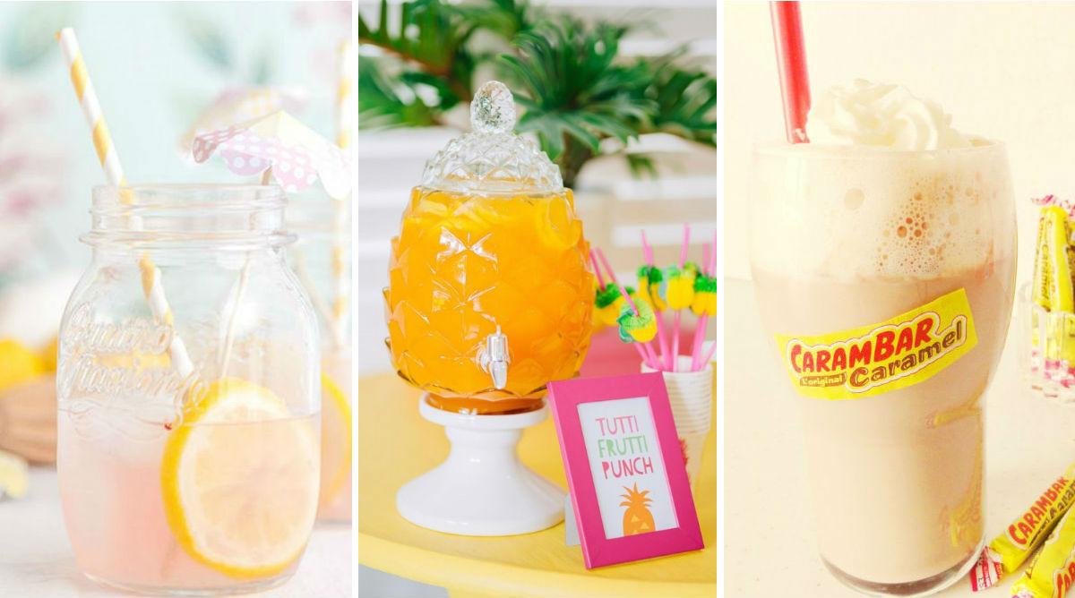 20 boissons fun pour l'anniversaire des enfants