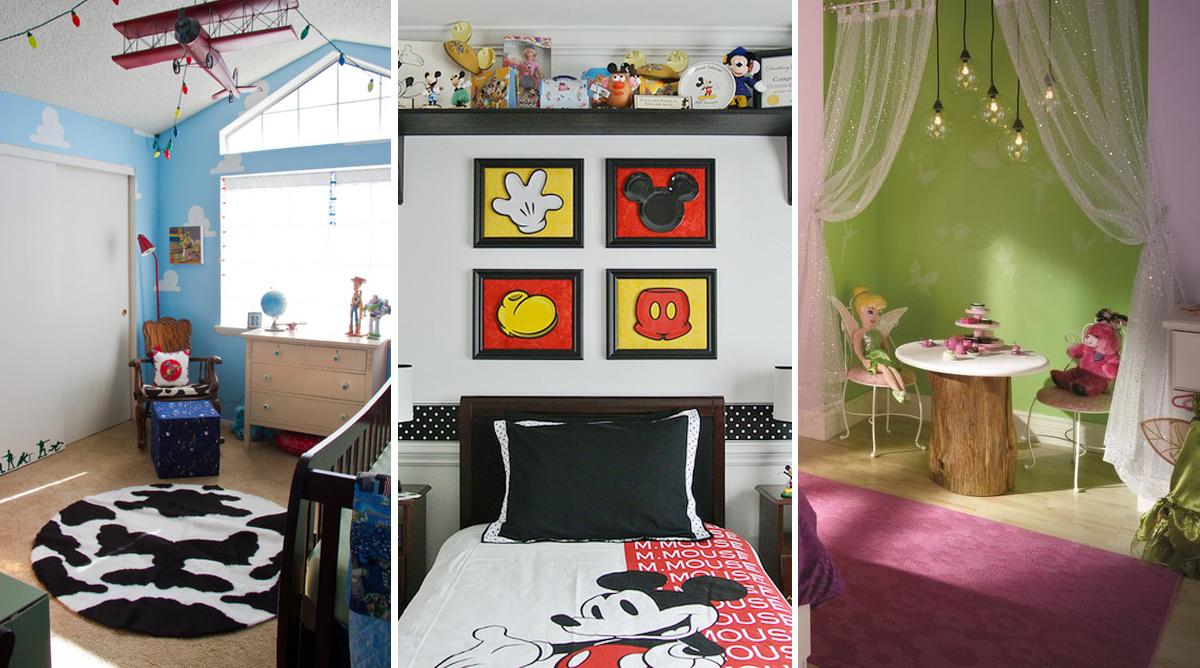 Chambres d'enfants insipirées de l'univers Disney