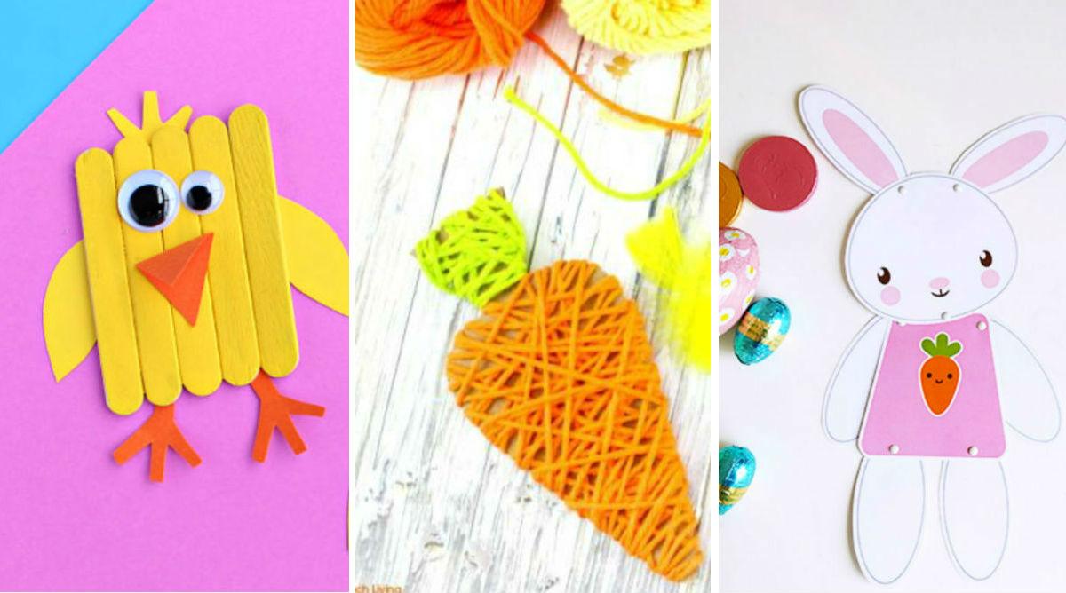 Pâques : 20 idées de bricolages pour les enfants - Momes.net