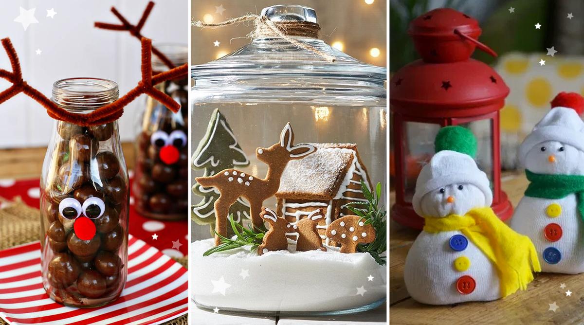 idées cadeaux Noël DIY faire soi-même bricolages