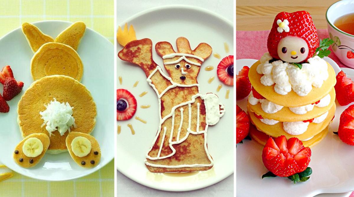 20 idées de crêpes rigolotes pour régaler les enfants !