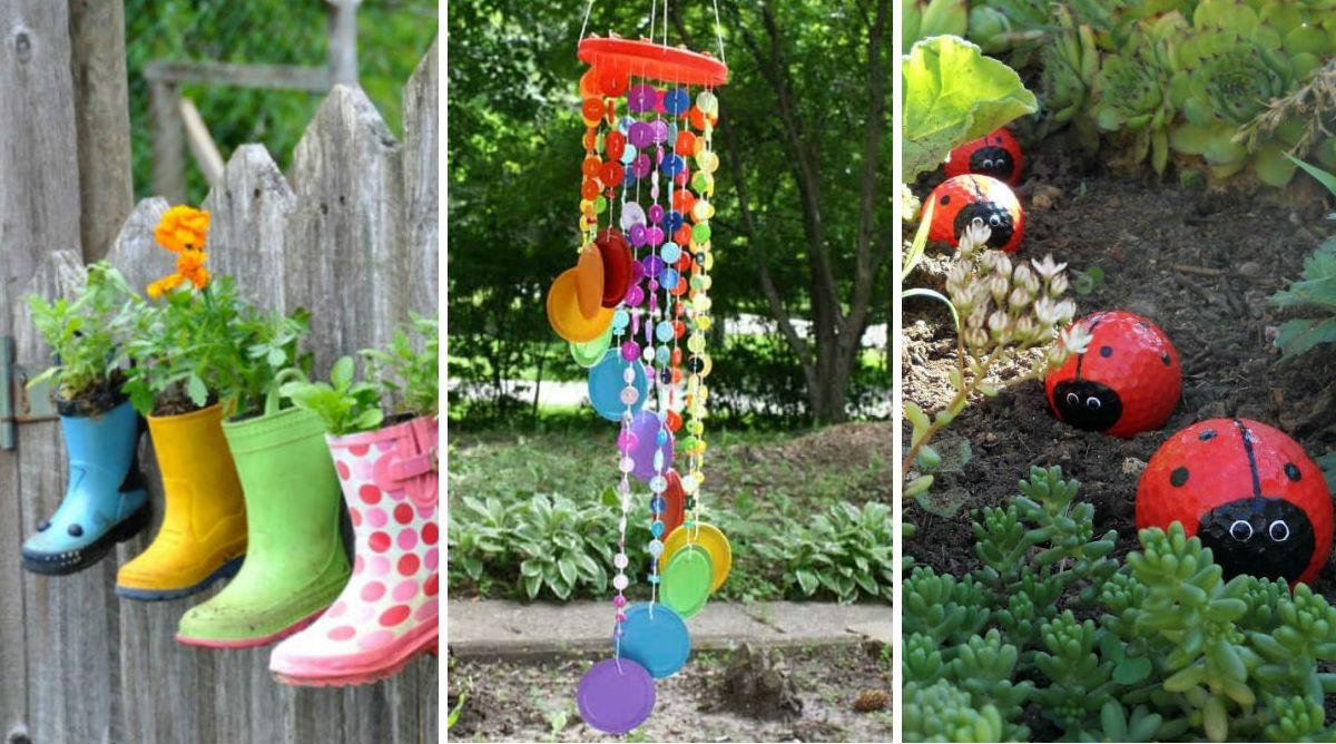 DIY enfants : 20 idées déco pour le jardin - Momes.net