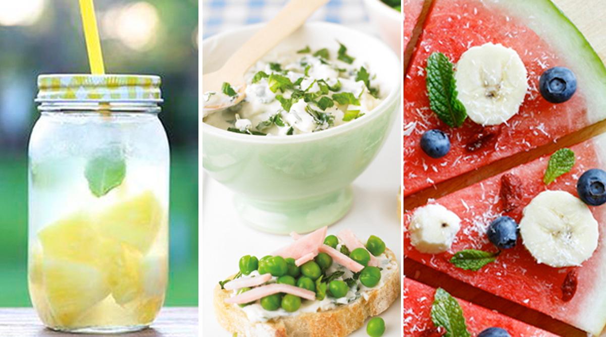 idées recettes d'été faciles et fraiches