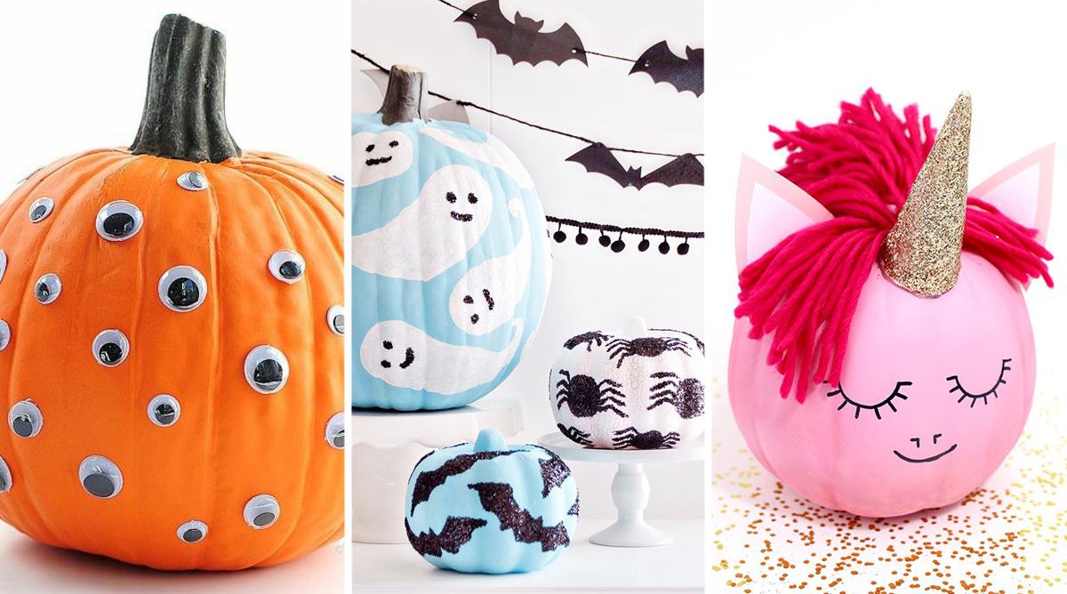 citrouilles gentilles qui ne font pas peur pour Halloween