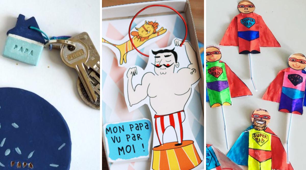 30 idées de cadeaux faits main pour papa