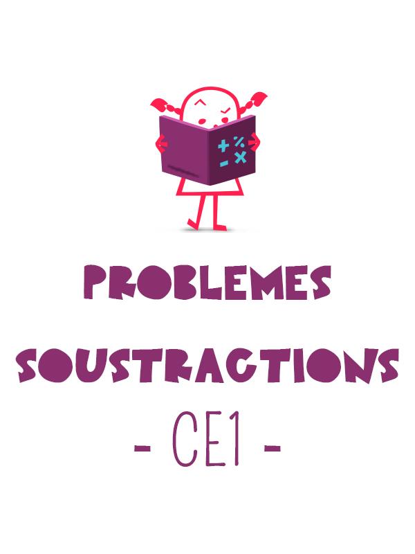 5 petits problèmes avec des soustractions