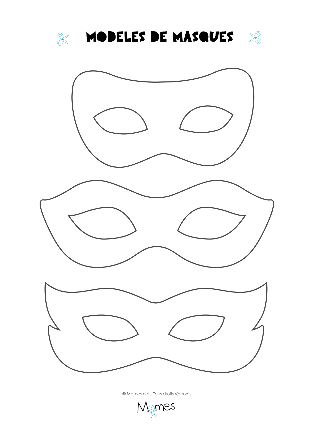 Masque A Imprimer Momes Net