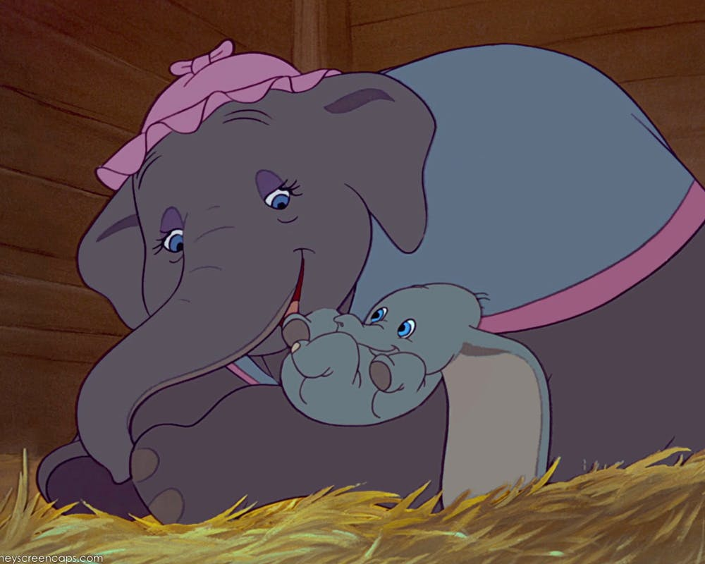 mamans de dessins animés Madame Jumbo Dumbo