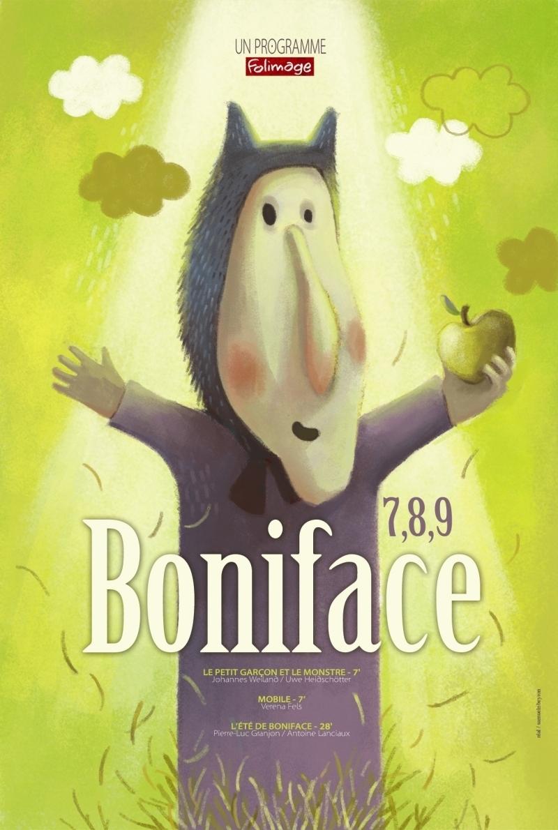 Affiche 7 8 9 Boniface