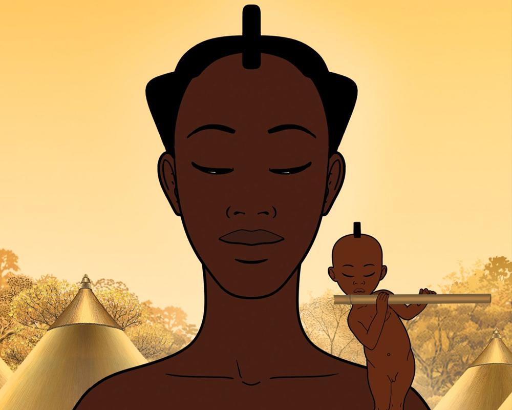 mamans de dessins animés maman de Kirikou