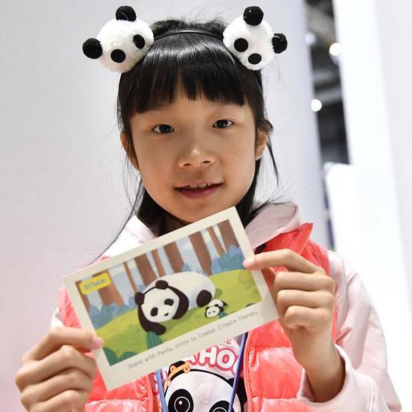 À 9 ans, elle se bat pour sauver les pandas menacés par le réchauffement climatique