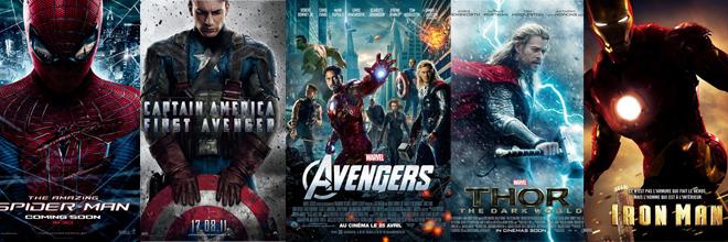 affiche films super heros