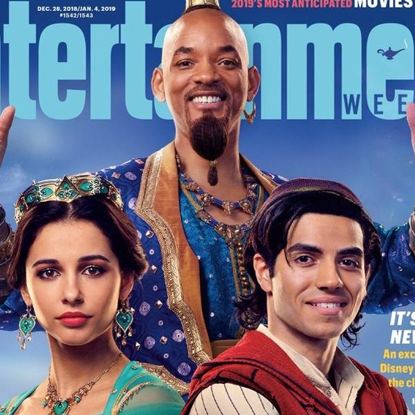 Aladdin : les toutes premières images du film et de Will Smith en génie