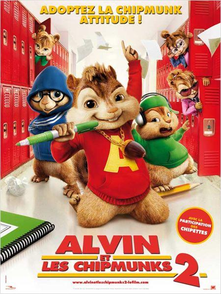 Affiche Alvin et les Chipmunks 2
