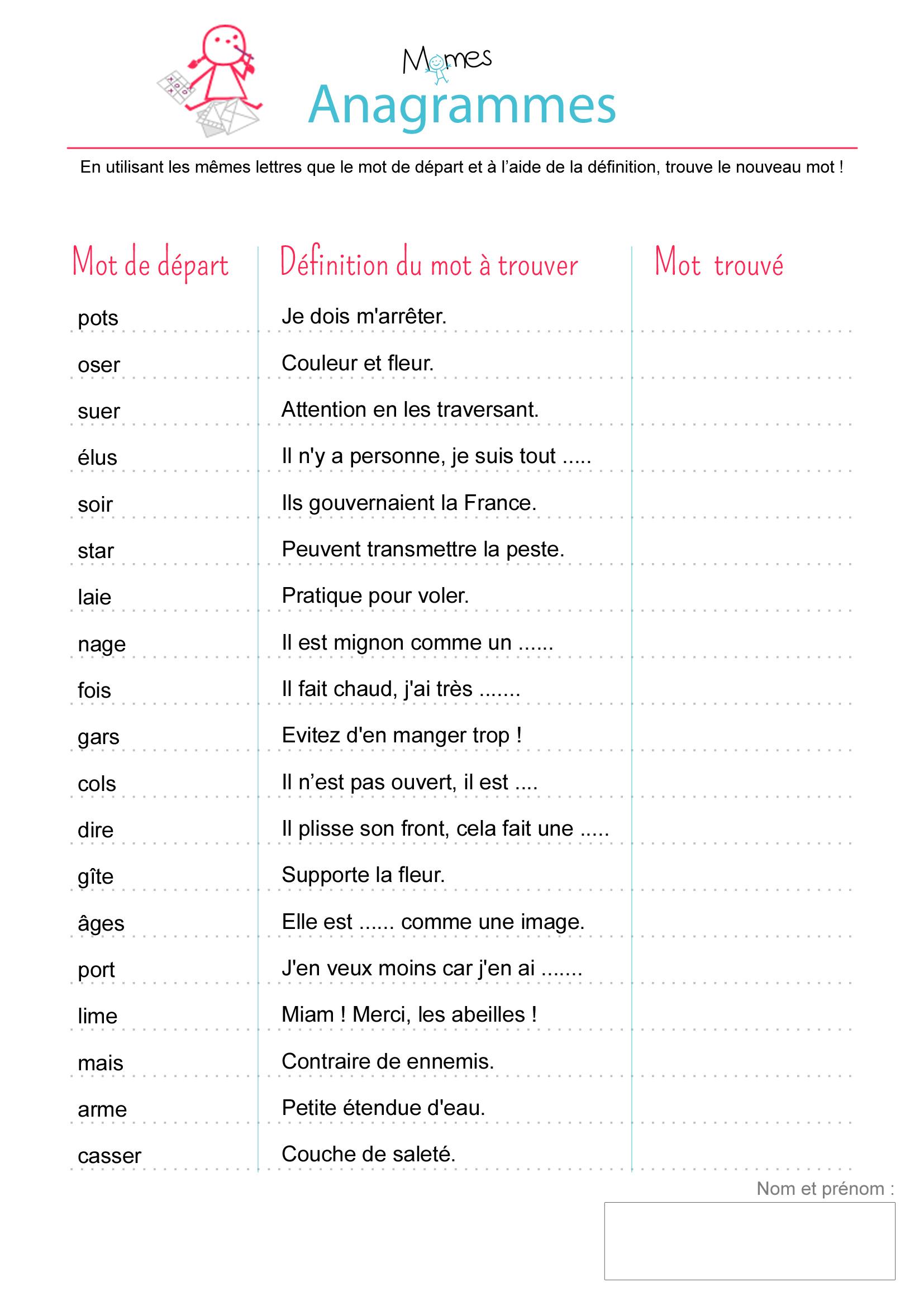question sur la signification d'un mot 1ère Anglais