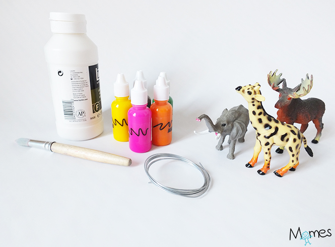 peindre animaux plastique