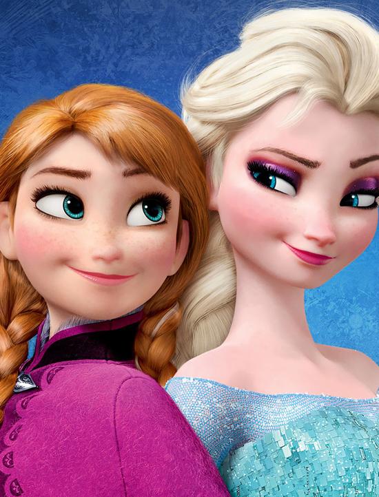 Anna et elsa de la reine des neiges - Princesse des neiges ...