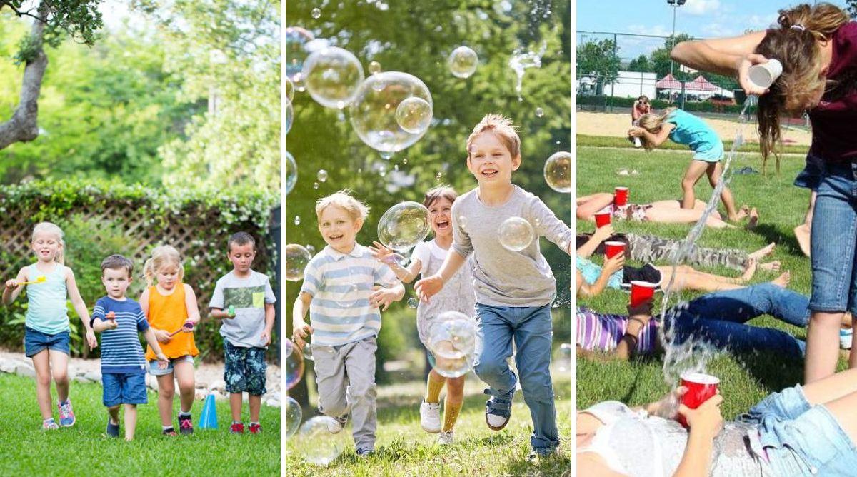 Anniversaire: top 15 des jeux d'extérieur pour les enfants