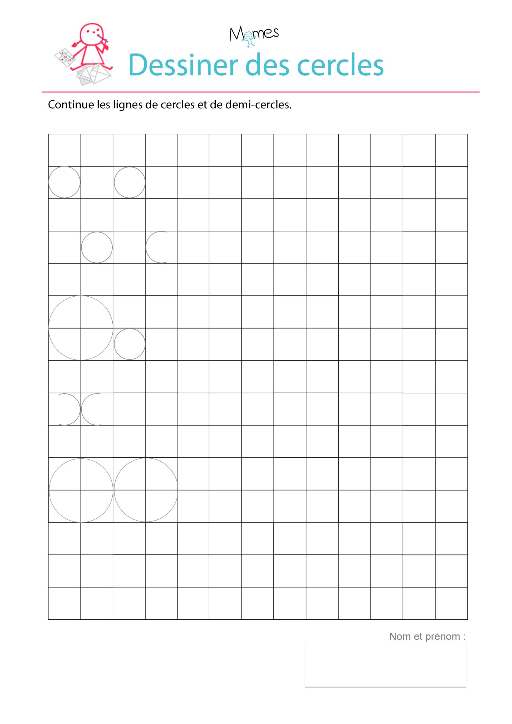 apprendre a tracer des cercles