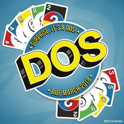Dos nouveau jeu de cartes Uno Mattel
