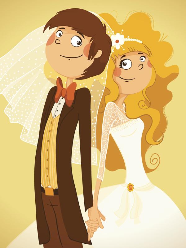 Arlequin marie sa fille