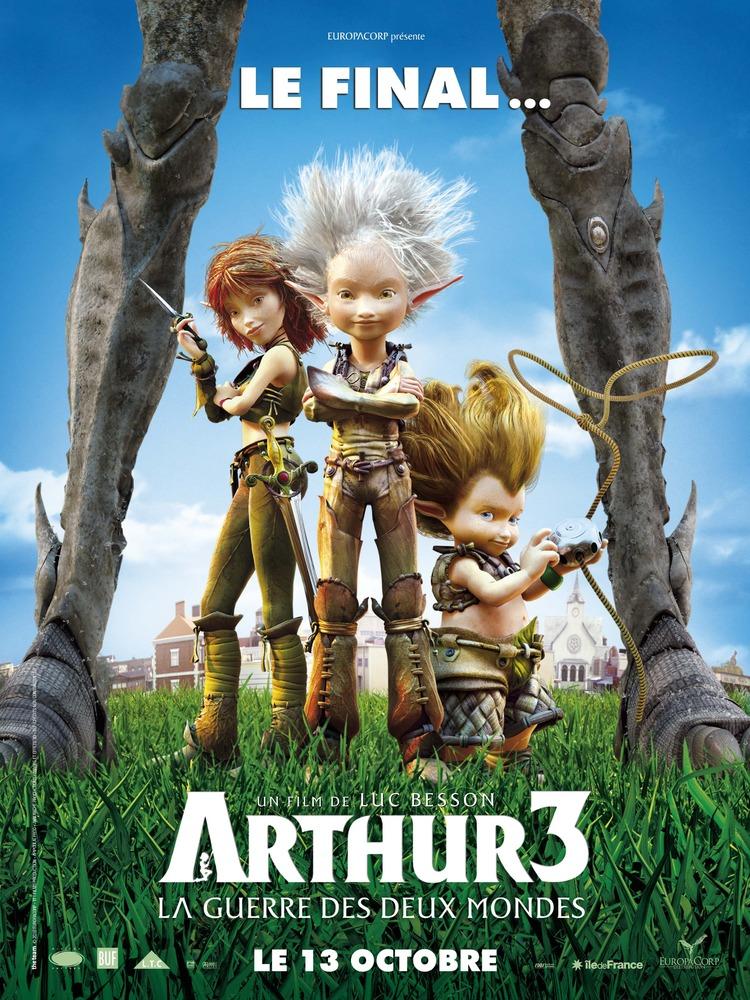 Affiche Arthur 3 la Guerre des Deux Mondes