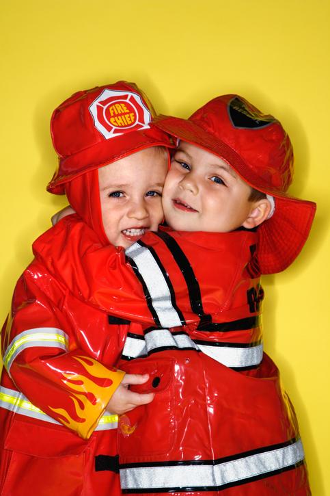 Au feu les pompiers
