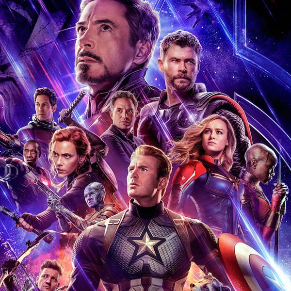 Avengers Endgame bande annonce Captain Marvel