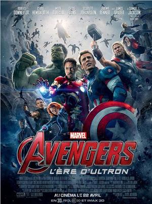 Avengers : L'ère d'Ultron affiche