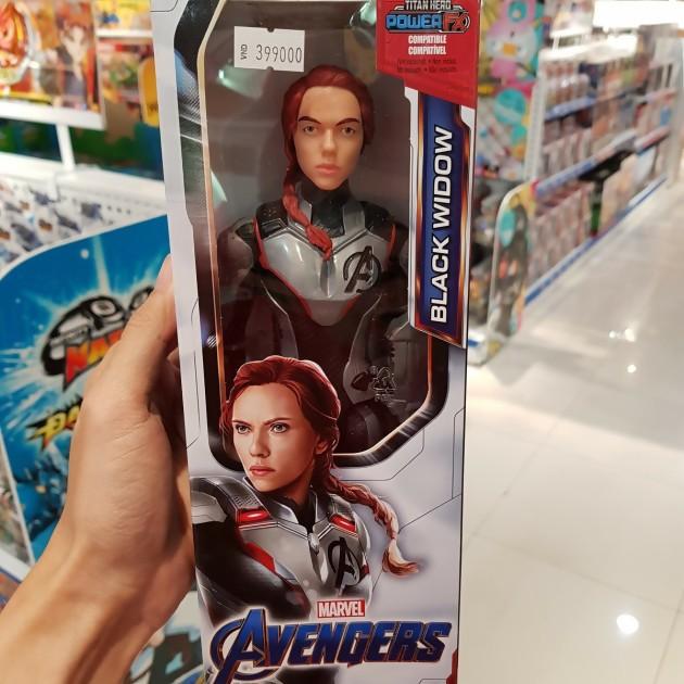 Avengers Endgame Quand Des Jouets Spoilent Le Film