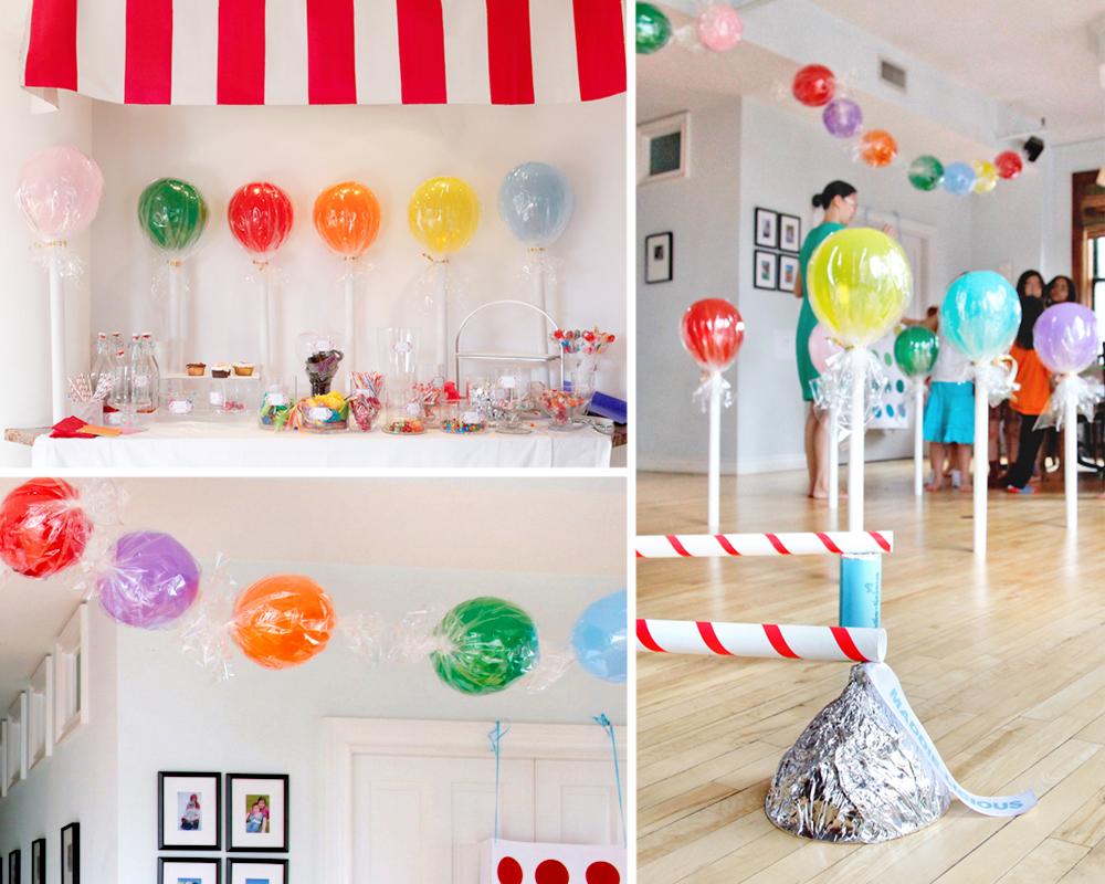 Ballons De Sucettes Et Bonbons Momes Net