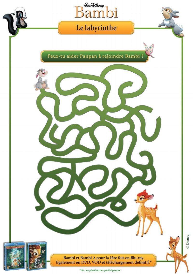 Bambi : le labyrinthe
