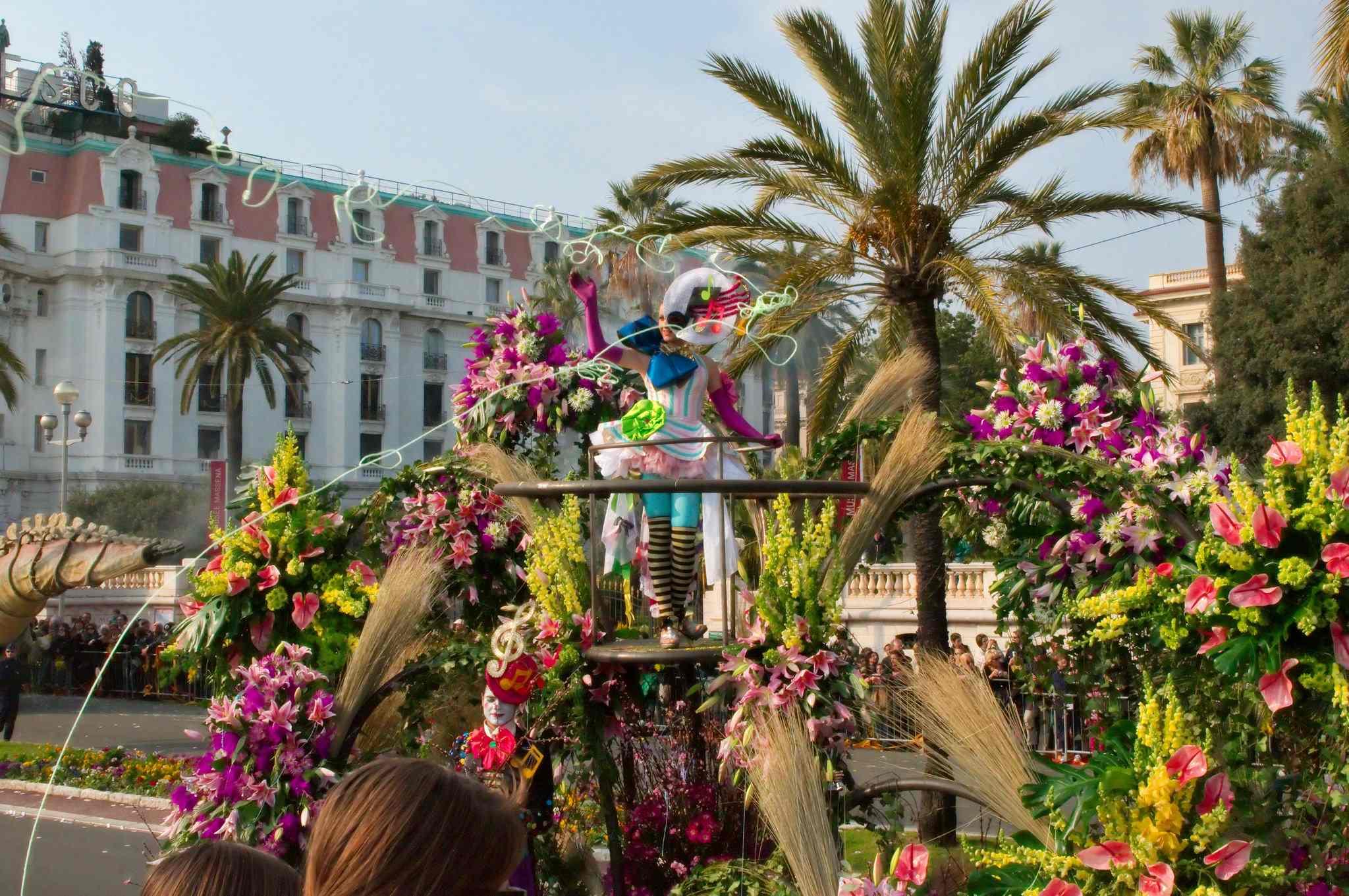 Bataille de fleur, carnaval de Nice en 2009