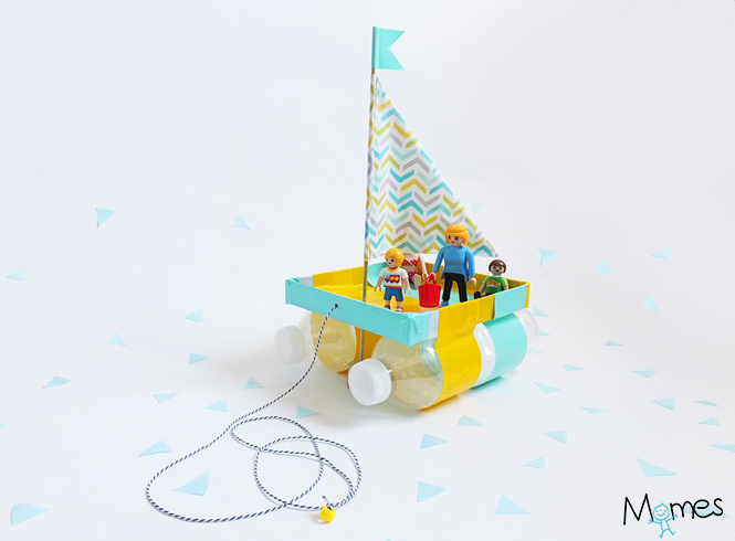 fabriquer un bateau jouet