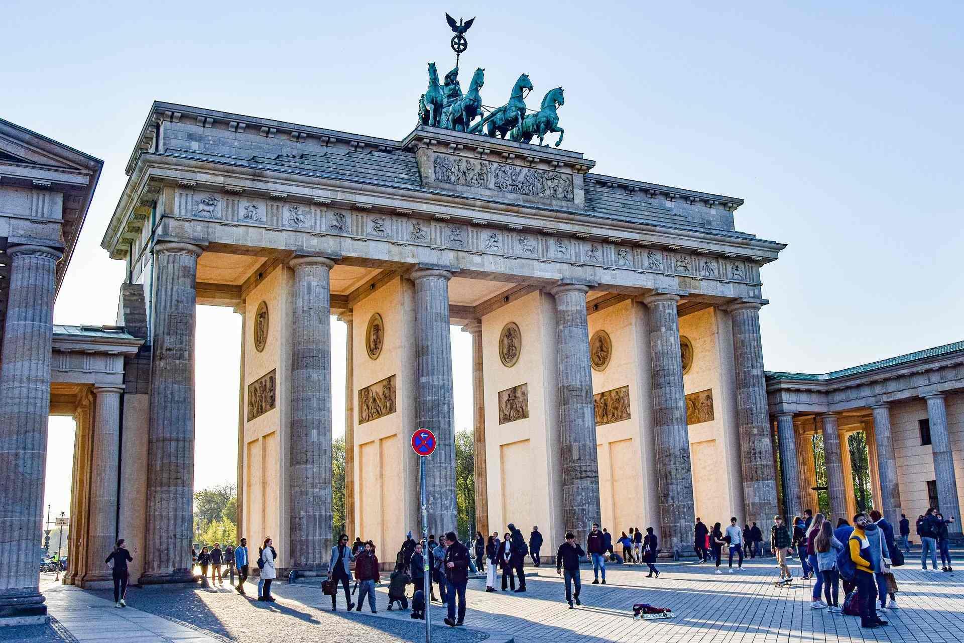 Berlin, la porte de Brandebourg
