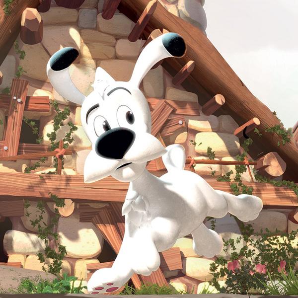 Idéfix série animée 3D france télévision Astérix et Obélix