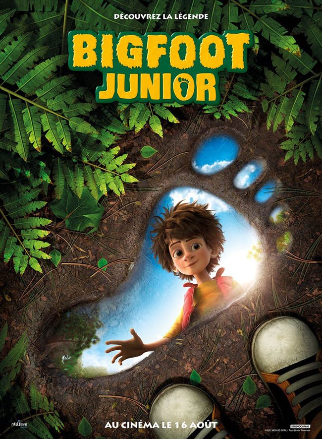 Bigfoot Junior - affiche