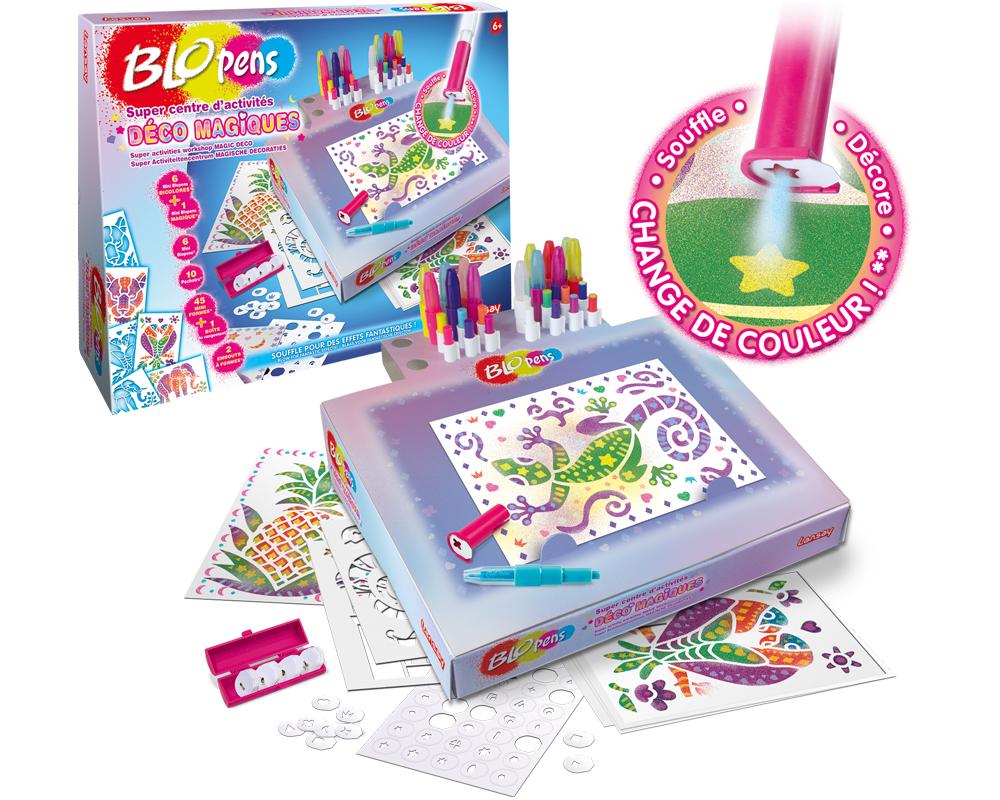 meilleurs cadeaux Noël 2019 enfants Blo Pens Décos magiques