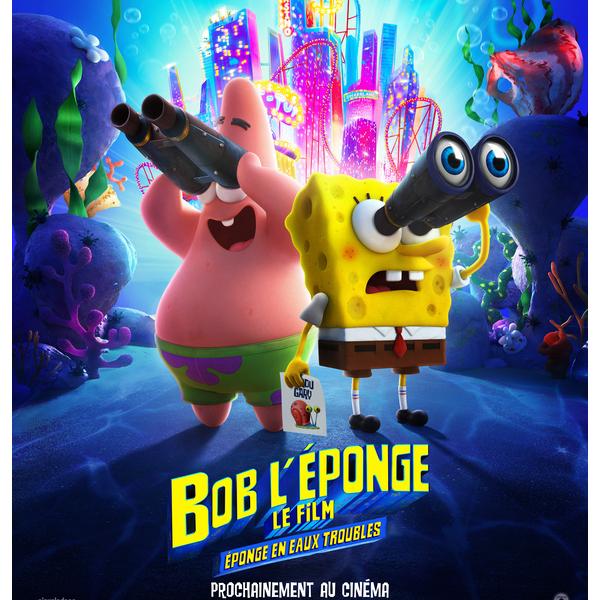 Bob l'éponge éponge en eaux troubles bande annonce affiche film