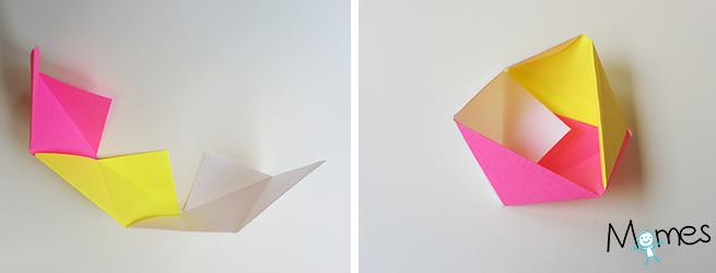 Boîte Géométrique En Papier Momesnet