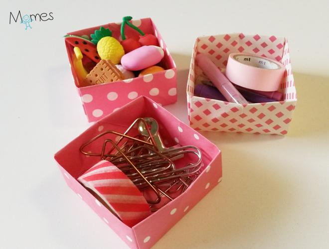 boite origami fin