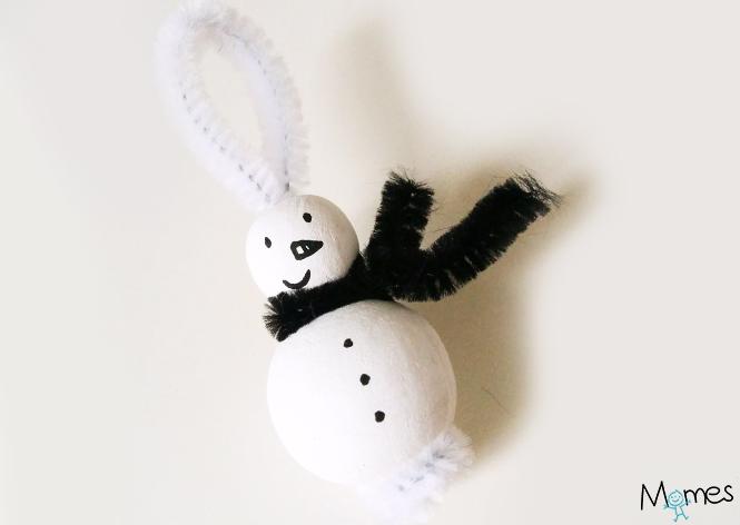 bonhomme de neige en perle