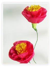 Bouquet de fleur en papier
