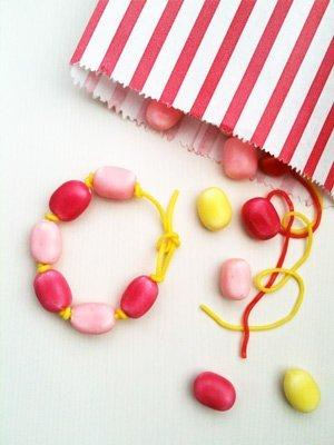 Bracelet de bonbons