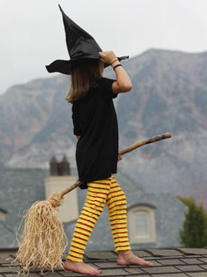 bricolage balai de sorcière