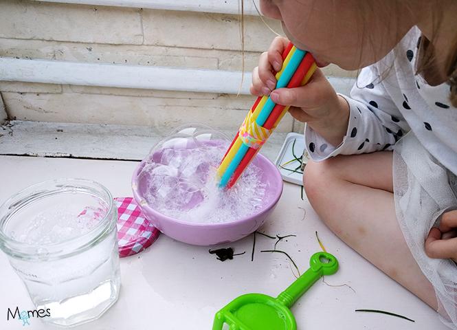 produit bulles de savon maison