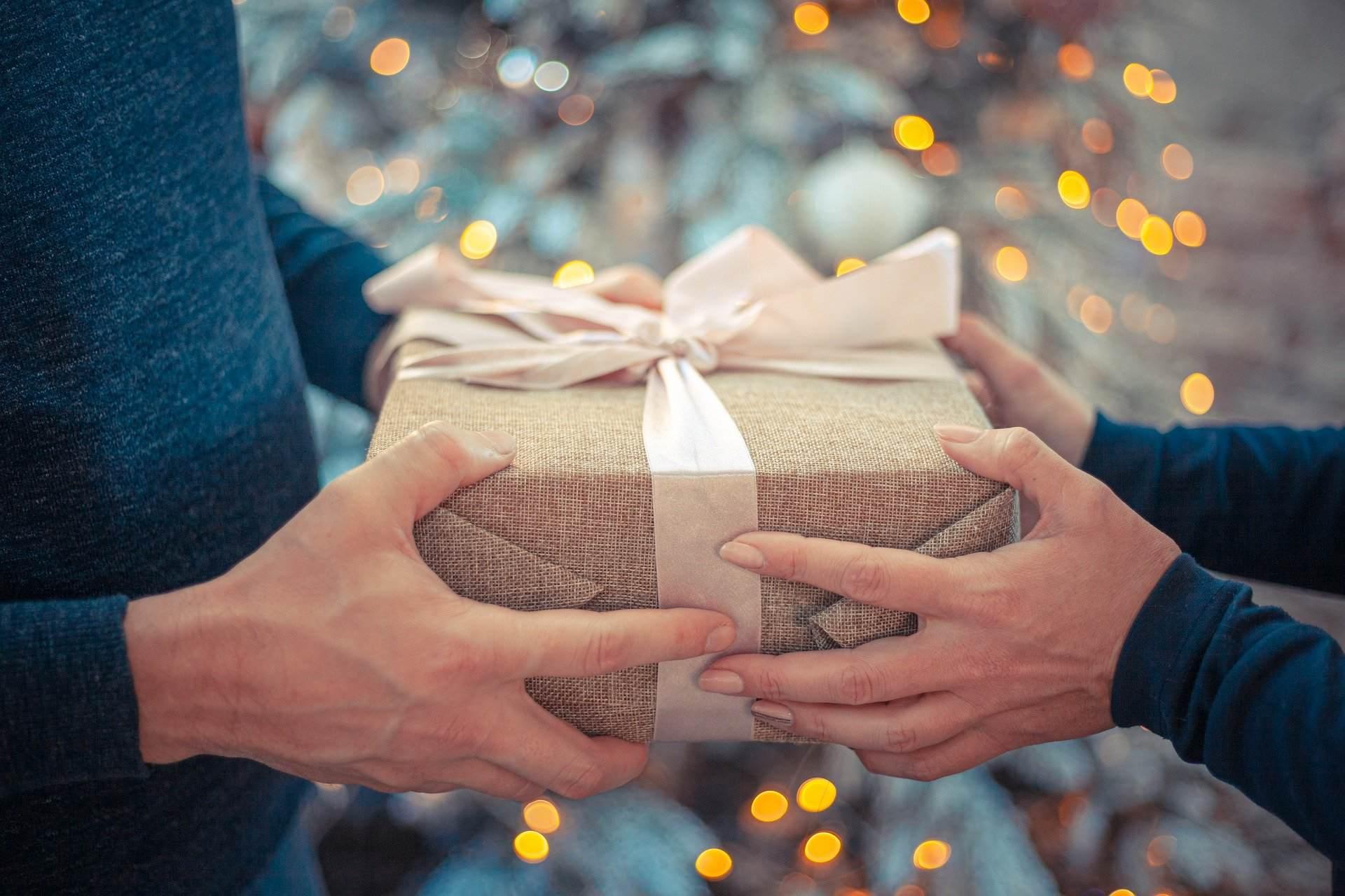 cadeau pour le Nouvel An