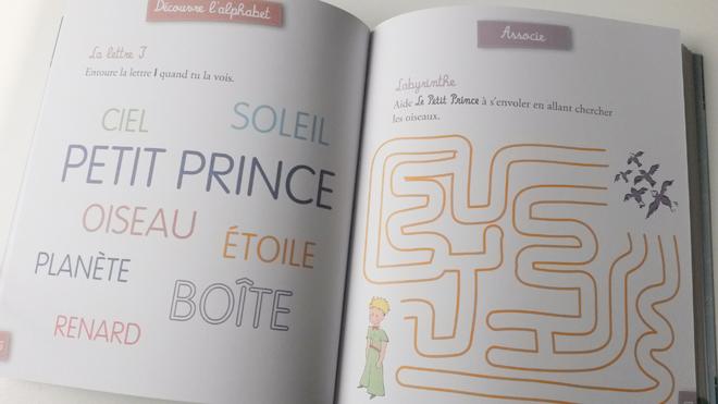 cahier activités le petit prince