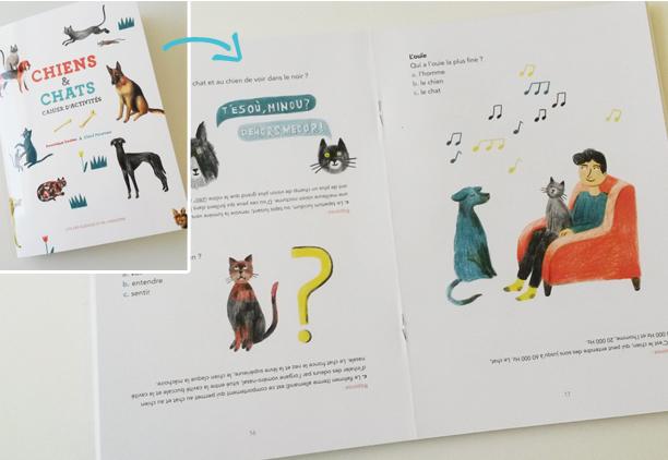 cahier d'activités chiens et chats