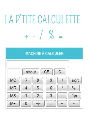calculatrice en ligne